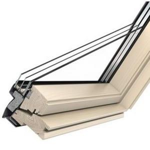 мансардное окно с двухкамерным стеклопакетом